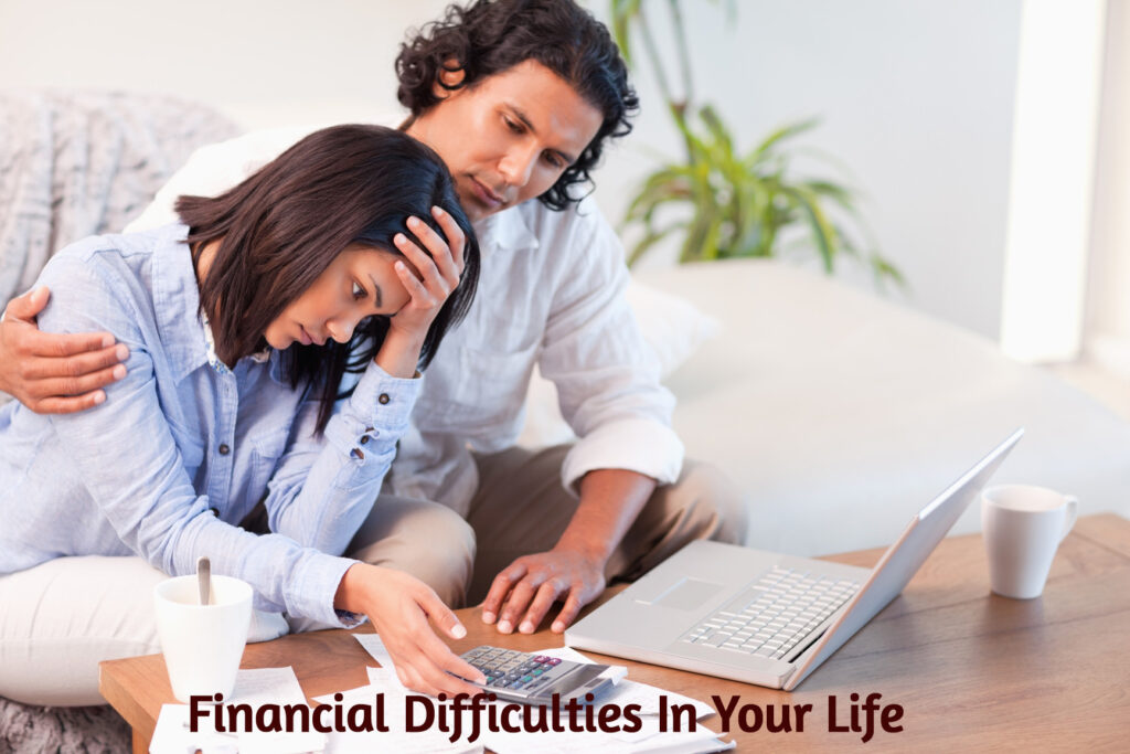 FIND FINANCIAL DIFFICULTIES